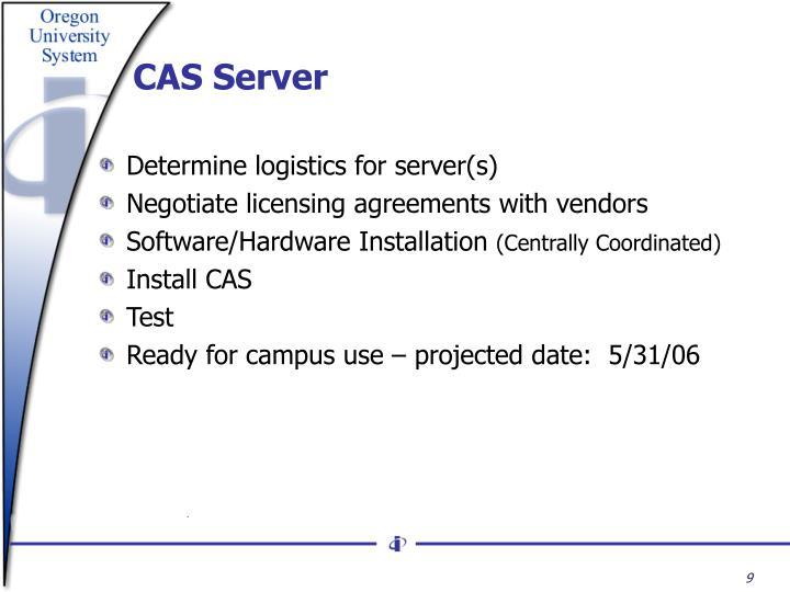 CAS Server