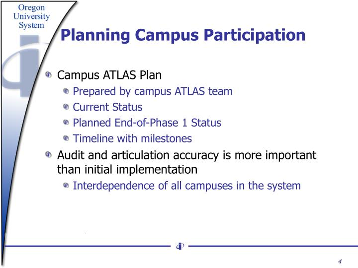 Planning Campus Participation