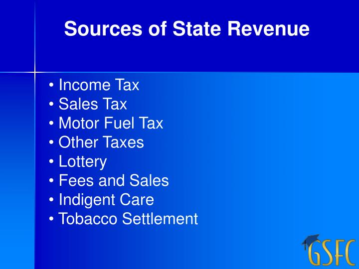 Sources of State Revenue
