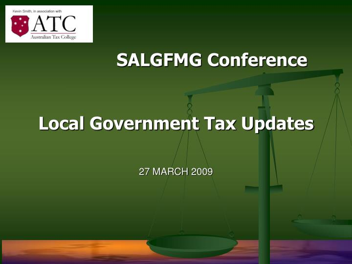 SALGFMG Conference