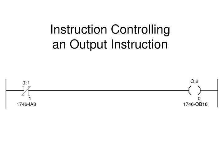 Instruction Controlling