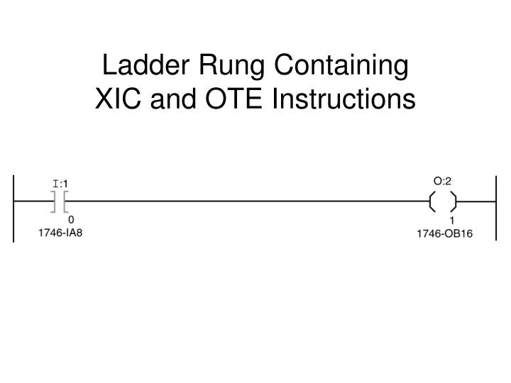 Ladder Rung Containing