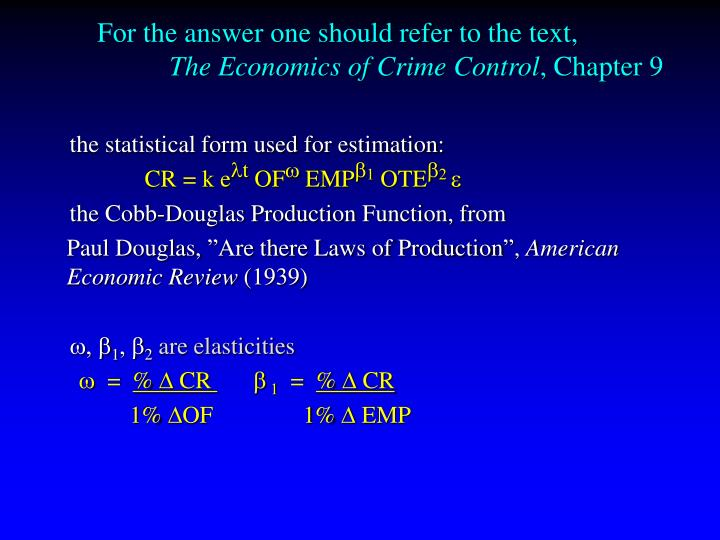 For the answer one should refer to the text,