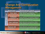 change and configuration management1