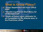 what is group policy1