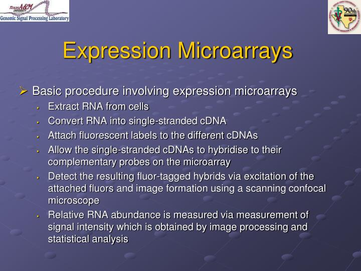 Expression Microarrays