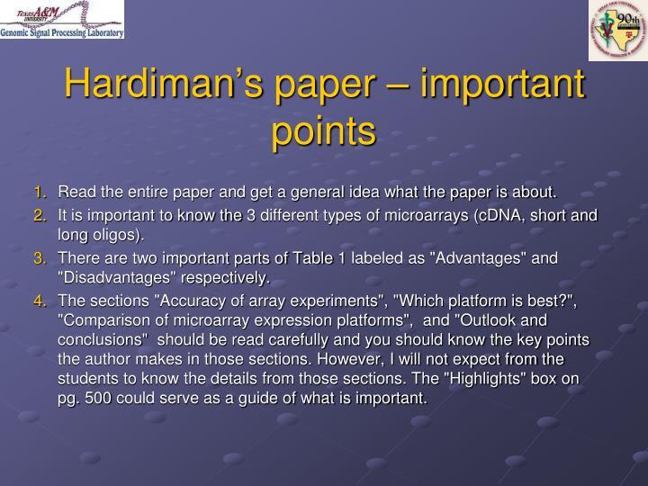 Hardiman's
