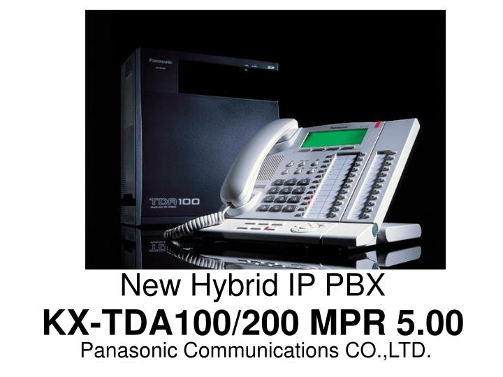 New Hybrid IP PBX