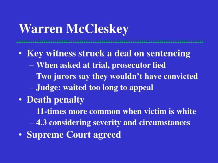 Warren McCleskey