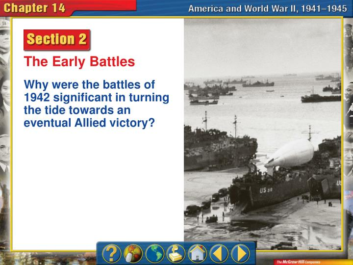 The Early Battles