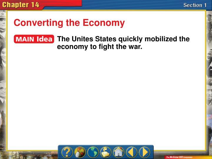 Converting the Economy