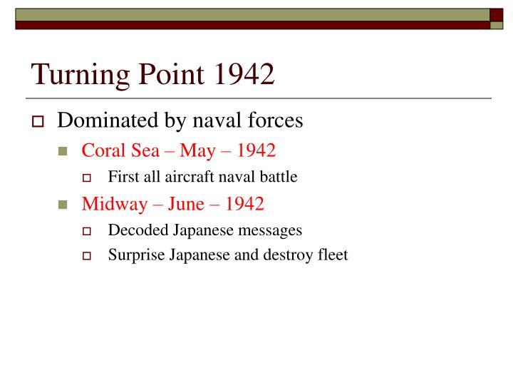 Turning Point 1942