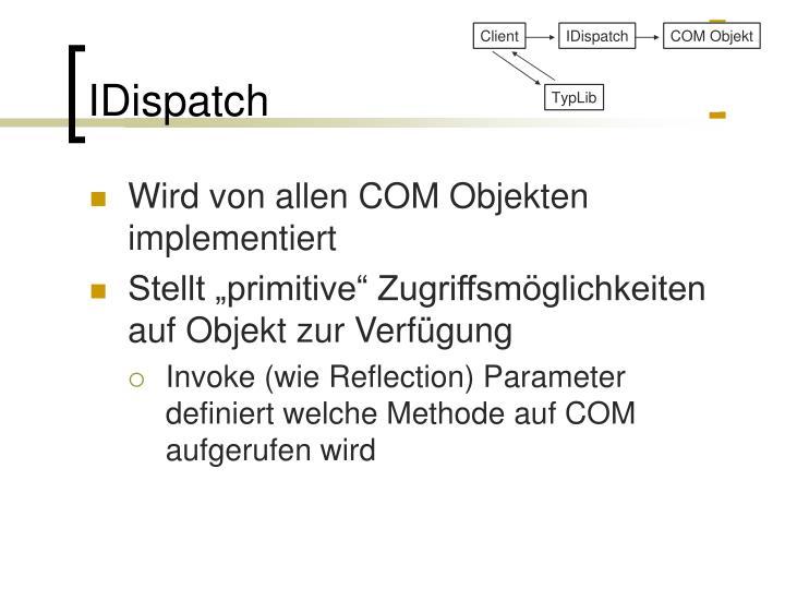 IDispatch