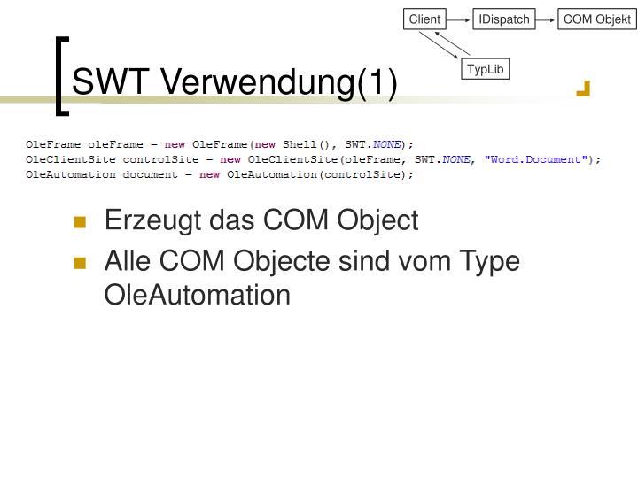 SWT Verwendung(1)