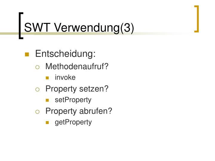 SWT Verwendung(3)