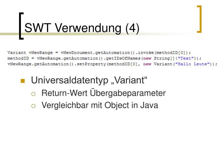 SWT Verwendung (4)