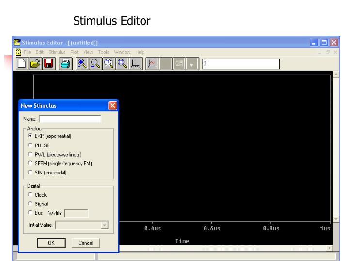 Stimulus Editor