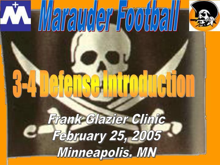 Marauder Football