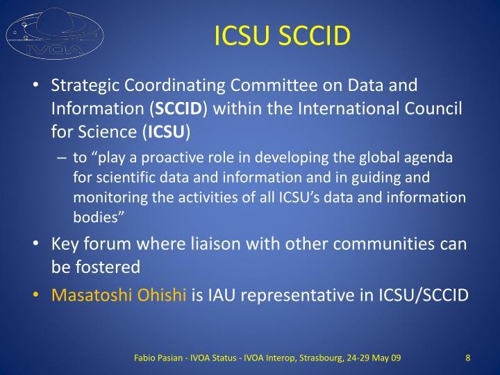 ICSU SCCID