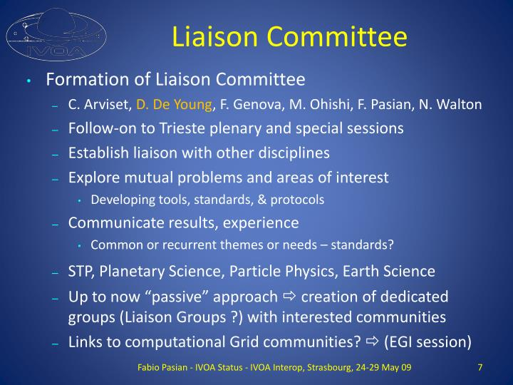 Liaison Committee