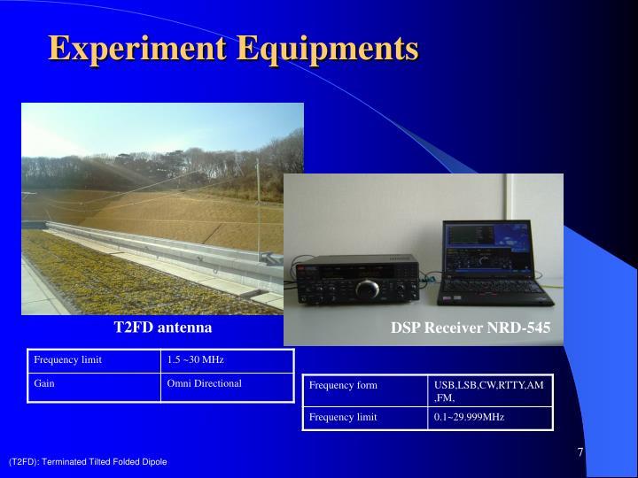 Experiment Equipments