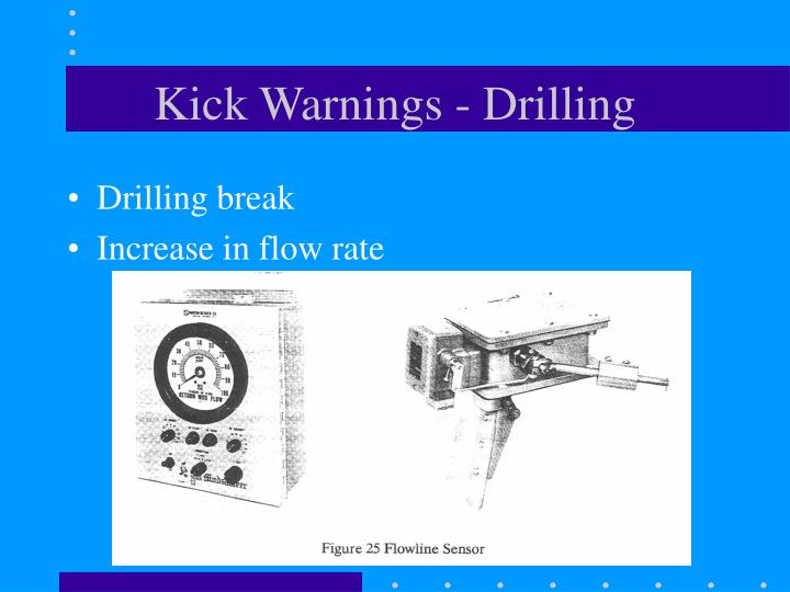 Kick Warnings - Drilling