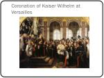 coronation of kaiser wilhelm at versailles