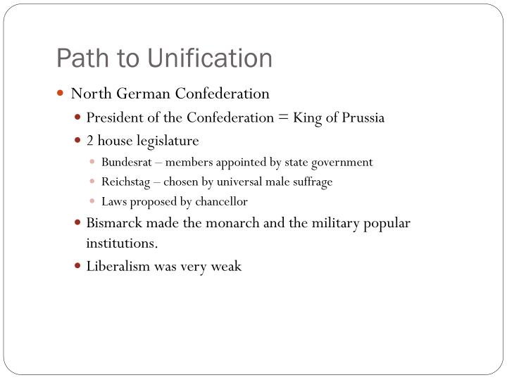 Path to Unification