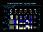 object dependent lighting basis5