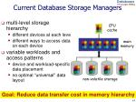 current database storage managers