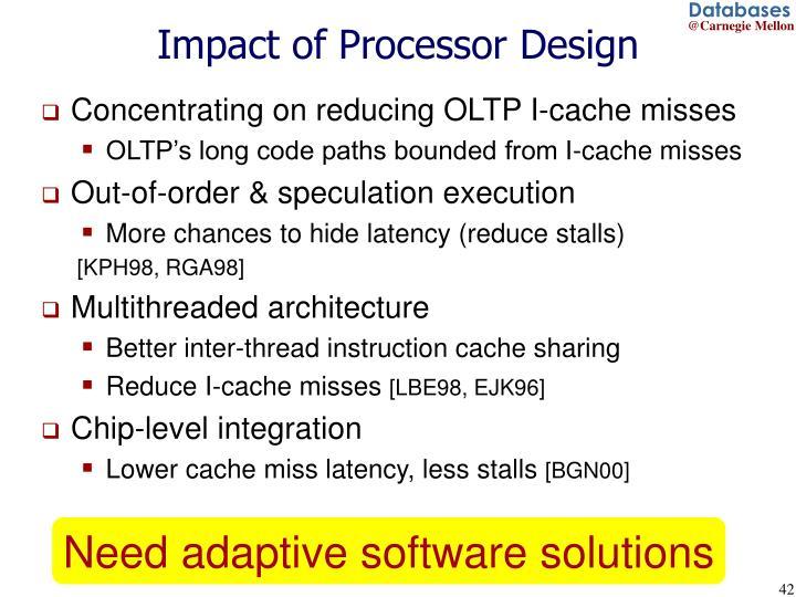 Impact of Processor Design