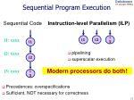 sequential program execution