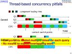 thread based concurrency pitfalls
