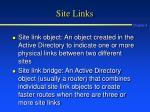 site links