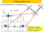 pi gvb orbitals ozone