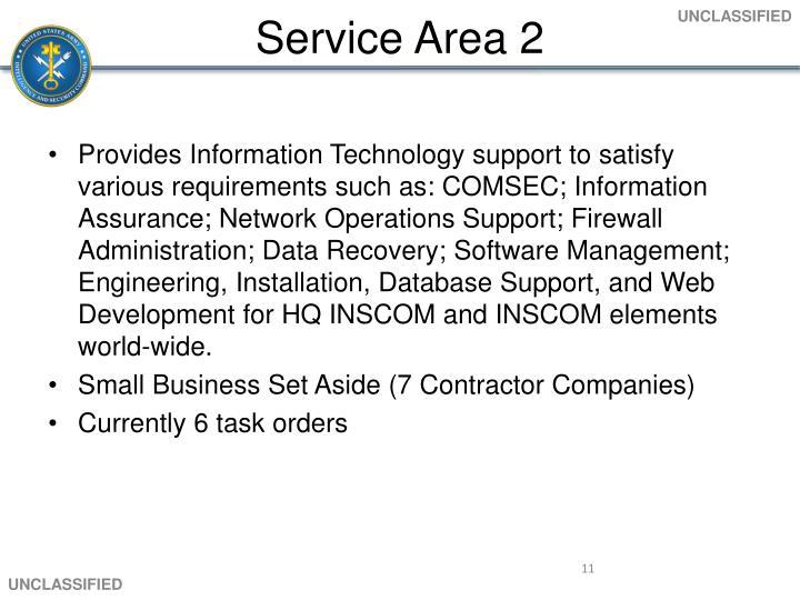 Service Area 2