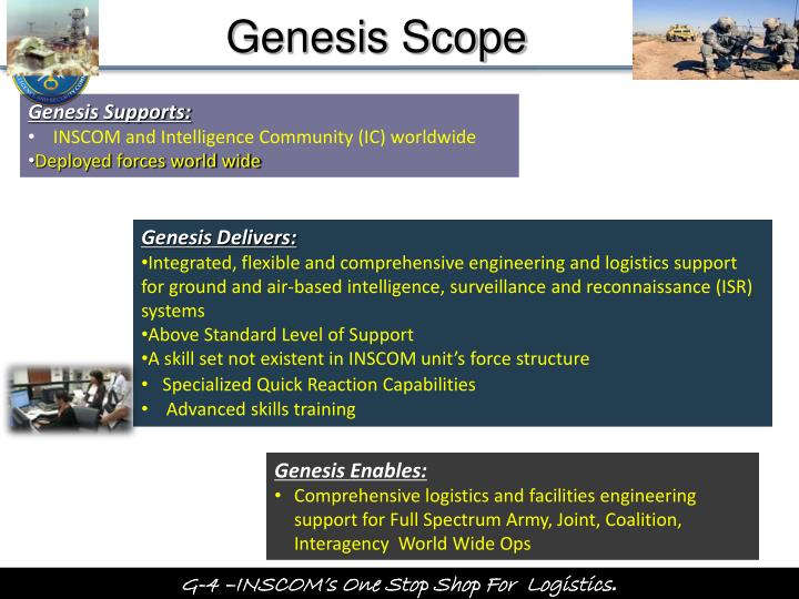Genesis Scope