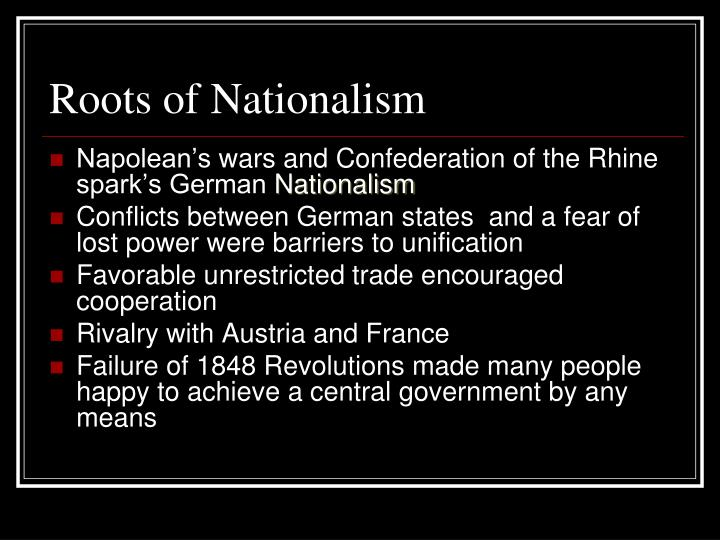 Roots of Nationalism