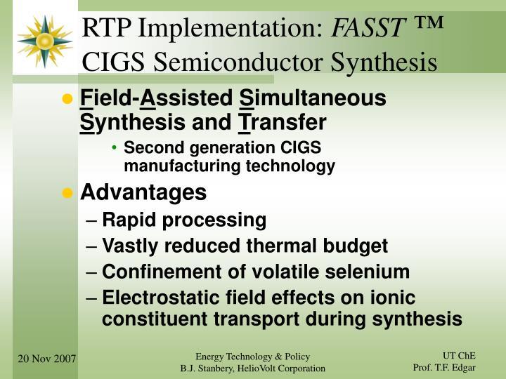 RTP Implementation: