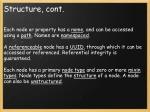 structure cont