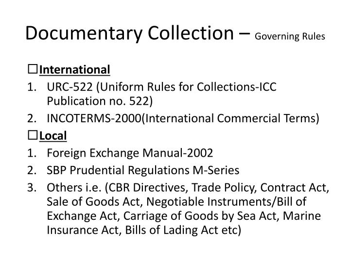 Documentary Collection –