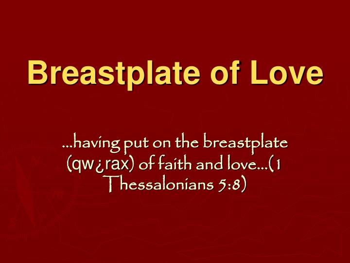 Breastplate of Love