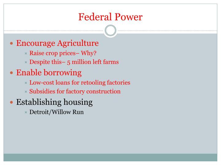 Federal Power