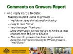 comments on growers report1