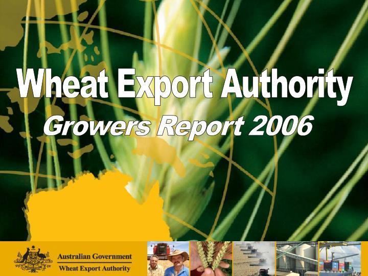 Wheat Export Authority