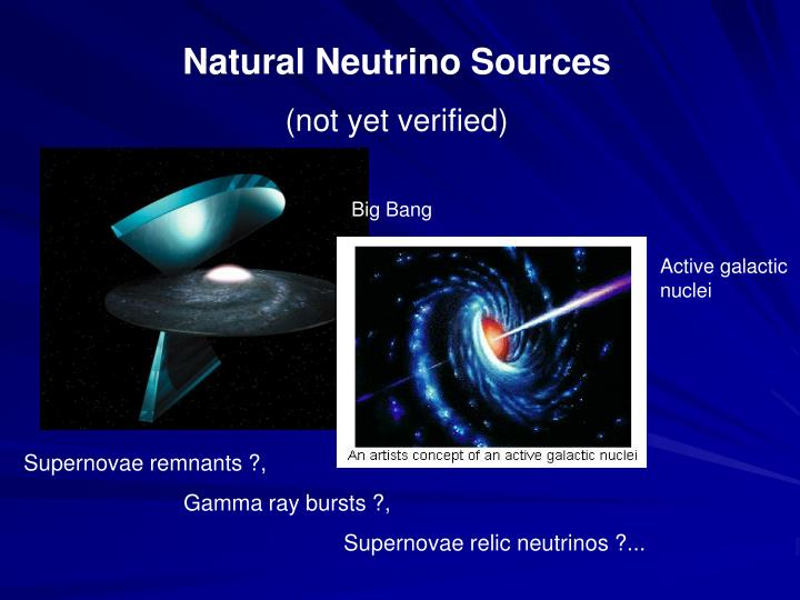Natural Neutrino Sources
