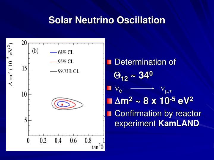 Solar Neutrino Oscillation