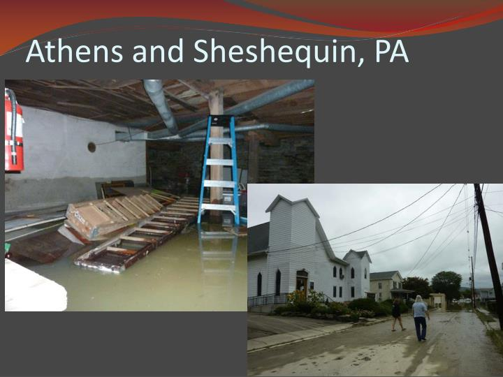 Athens and Sheshequin, PA