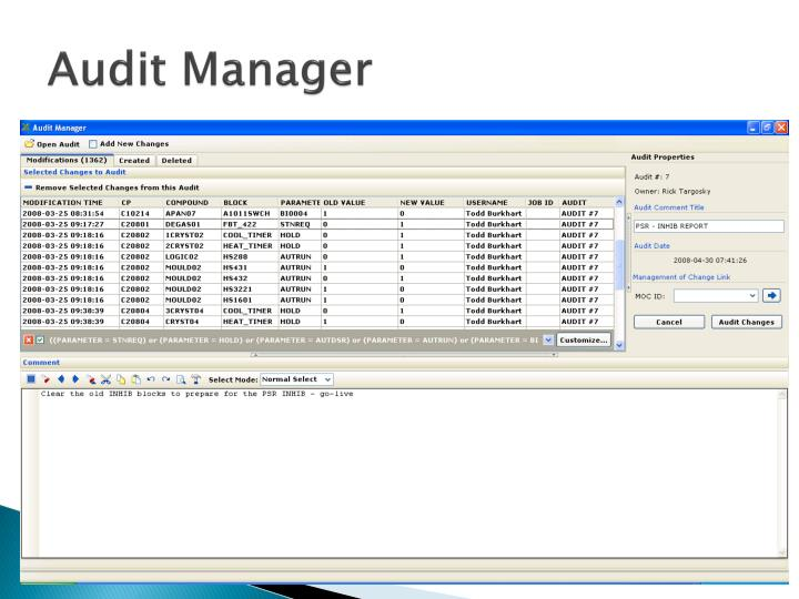 Audit Manager