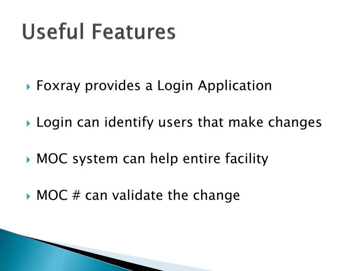 Useful Features